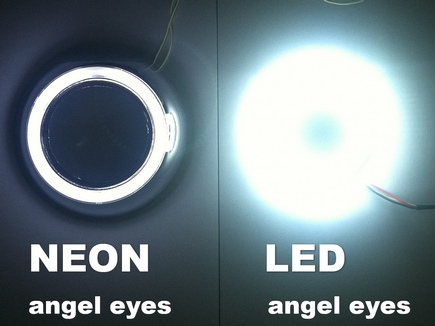 Angel eyas CCFL NEON VS Angel eyas LED