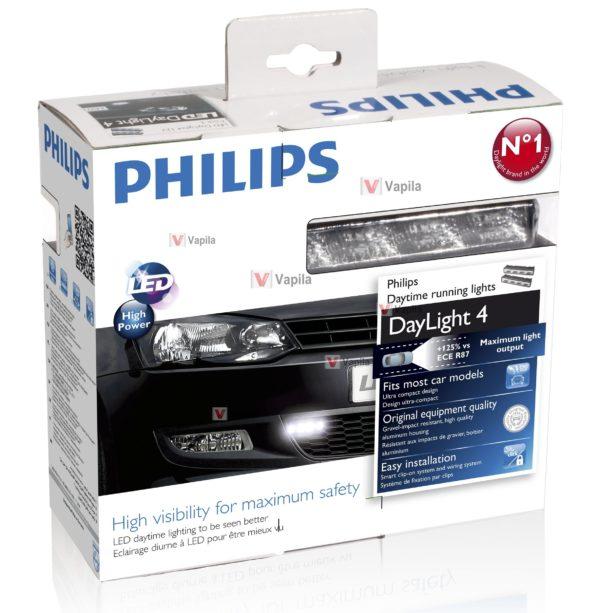 Дневные ходовые огни Philips LED DayLight 4 start&stop