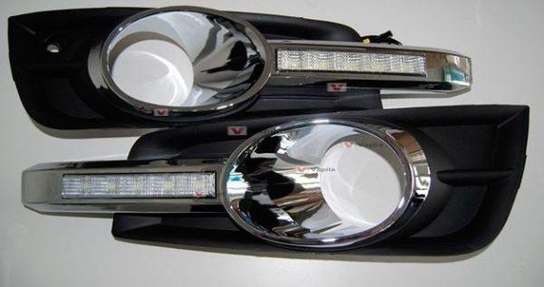 Штатные дневные ходовые огни Chevrolet Cruze 2009+