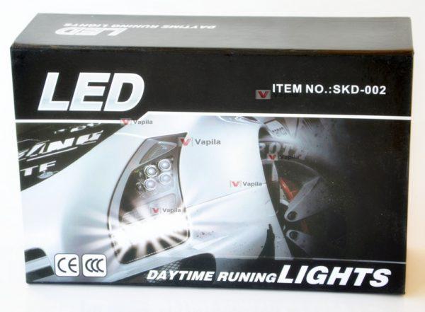 Дневные ходовые огни LED DayLight Safety SKD