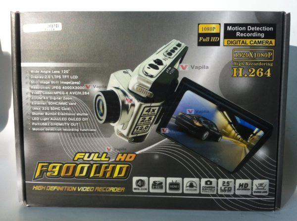Видеорегистратор F900L FULLHD