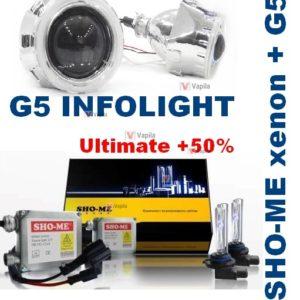 Sho-Me + G5 Infolight Ultimate +50% с ангел. глазками