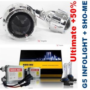 Sho-Me + G5 Infolight Ultimate +50%