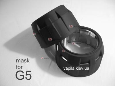 Маски для линз G5 Classic black mat