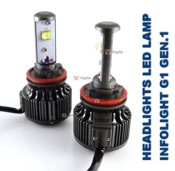 LED лампы головного света Infolight G1 gen.1 30w/40w