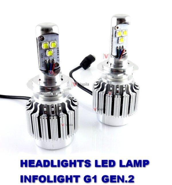 LED лампы головного света Infolight G1 gen.2 30w