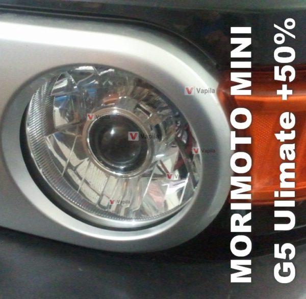 Биксеноновые линзы Morimoto mini G5 Ulimate +50%