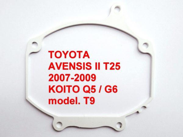 Переходная рамка для билинз Toyota Avensis II рест. KIOTO