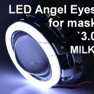 Комплект LED ангельских глазок milk для `3.0
