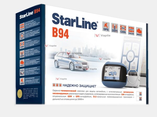 Автосигнализация Starline B94 GSM GPS