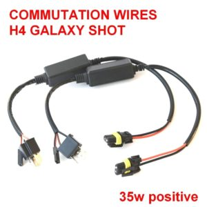 H4 galaxy shot 35w switching wires