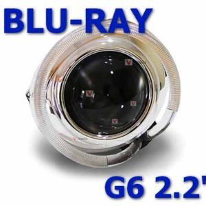 Биксеноновые линзы Blu-Ray G6 2,2'