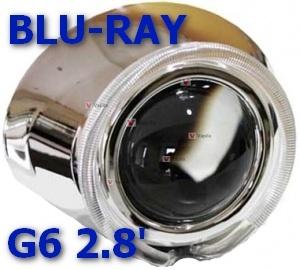 Биксеноновые линзы Blu-Ray G6 2,8'