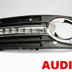 Штатные дневные ходовые огни Audi A4 2010+