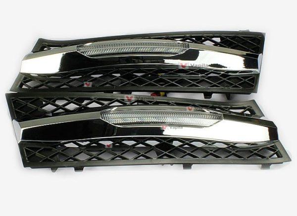 Штатные дневные ходовые огни BMW 5 Series 2010-2012 ver.2