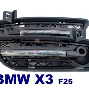 Штатные дневные ходовые огни BMW X3 F25 2011+