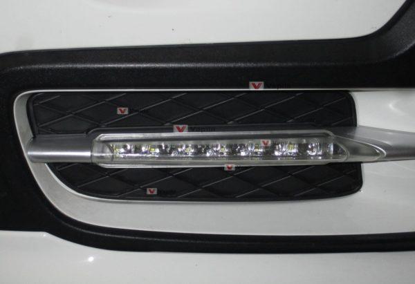 Штатные дневные ходовые огни BMW X5 E70 2007-2009