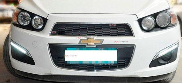 Штатные дневные ходовые огни Chevrolet Aveo 2012+