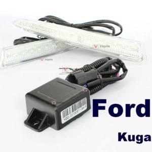 Штатные дневные ходовые огни Ford Kuga 2013+