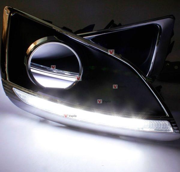 Штатные дневные ходовые огни Hyundai ix35 2010+ ver.2