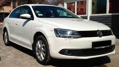 Штатные дневные ходовые огни VW Jetta Hybrid 2012-2013