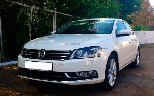 Штатные дневные ходовые огни VW Passat B7 2011+