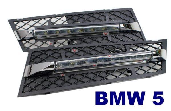 Штатные дневные ходовые огни BMW 5 Series 2010-2012