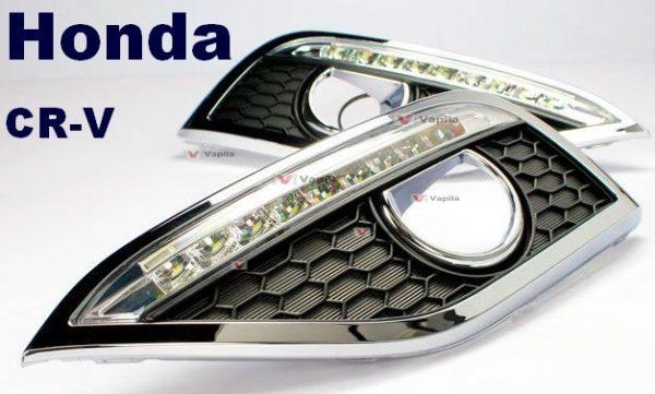 Штатные дневные ходовые огни Honda CR-V 2012+ ver.2