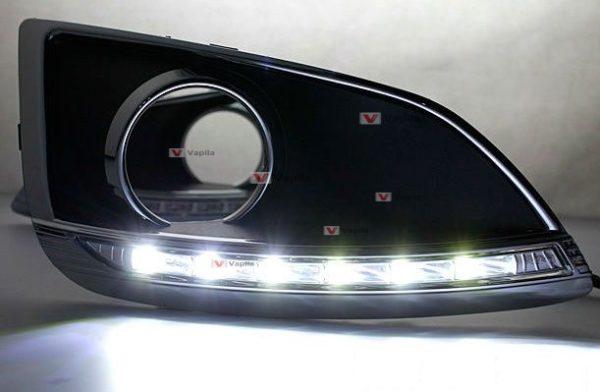 Штатные дневные ходовые огни Hyundai ix35 2010+ ver.1