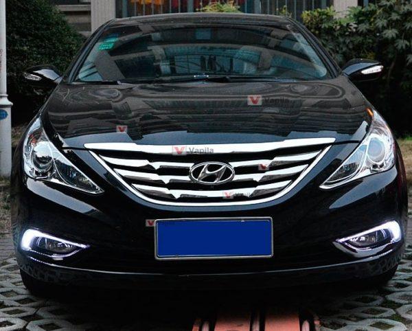 Штатные дневные ходовые огни Hyundai Sonata YF 2011+