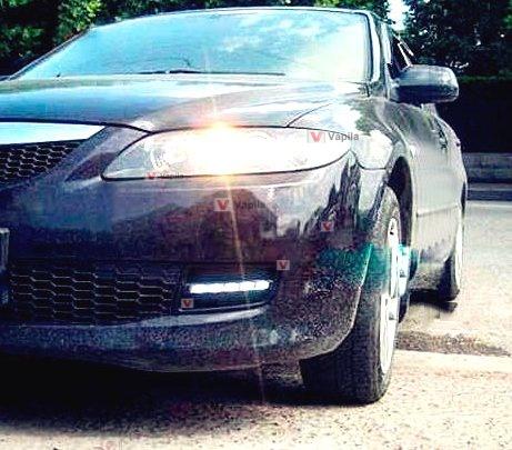 Штатные дневные ходовые огни Mazda 6 2005-2008
