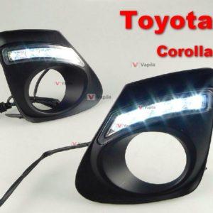 Штатные дневные ходовые огни Toyota Corolla 2011+