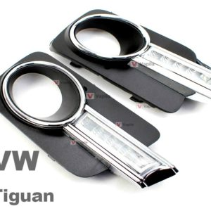 Штатные дневные ходовые огни VW Tiguan 2011+