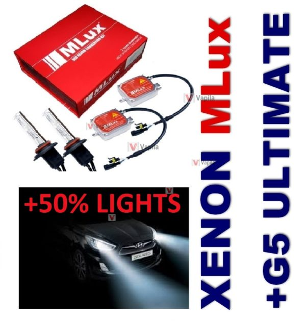 MLux Simple + G5 Morimoto Ultimate +50%