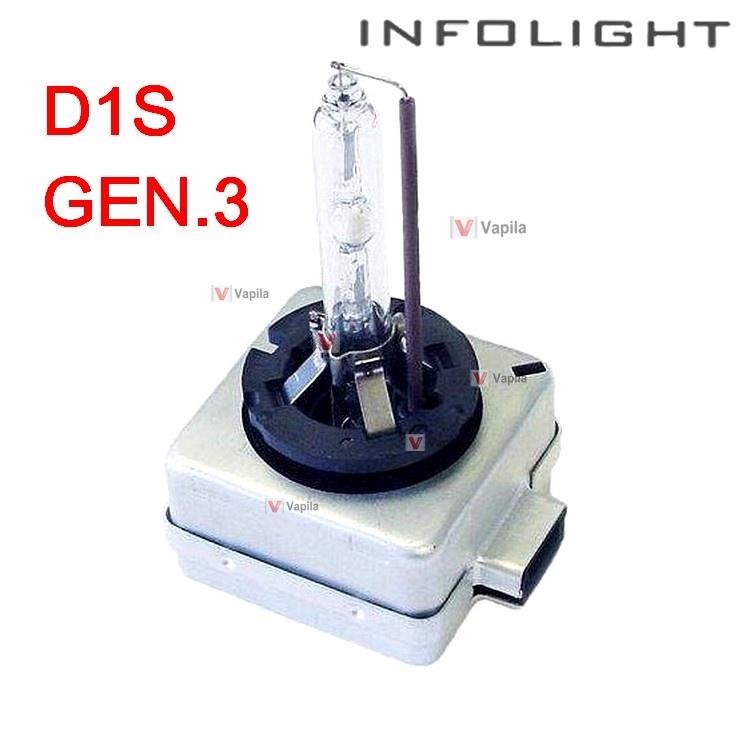 Ксеноновая лампа infolight d1s +50% gen3