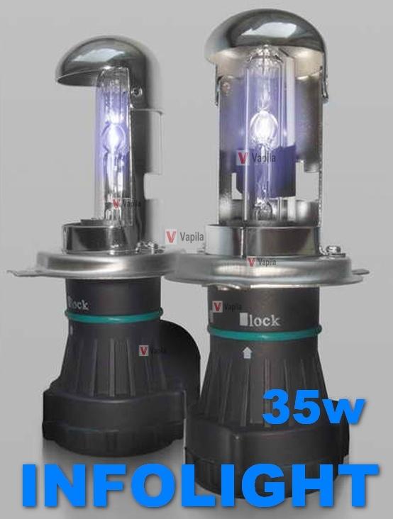 Биксеноновые лампы Infolight PRO 35w Акция!
