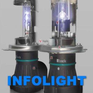 Биксеноновые лампы Infolight PRO 50w
