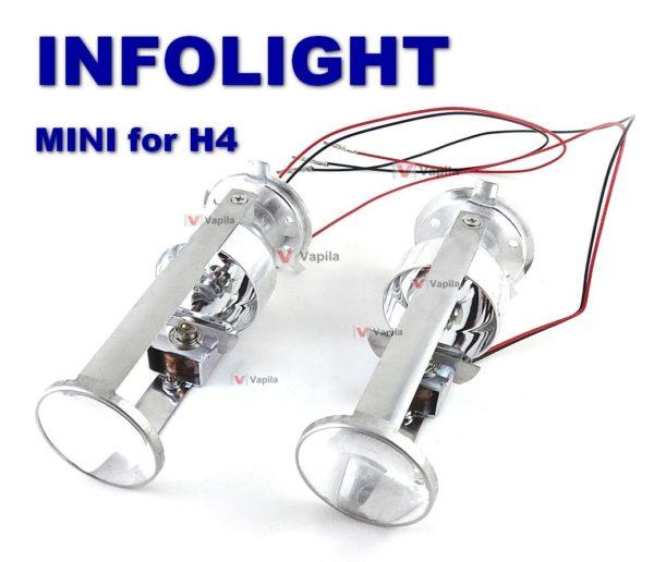 Биксеноновые линзы Infolight MINI H4