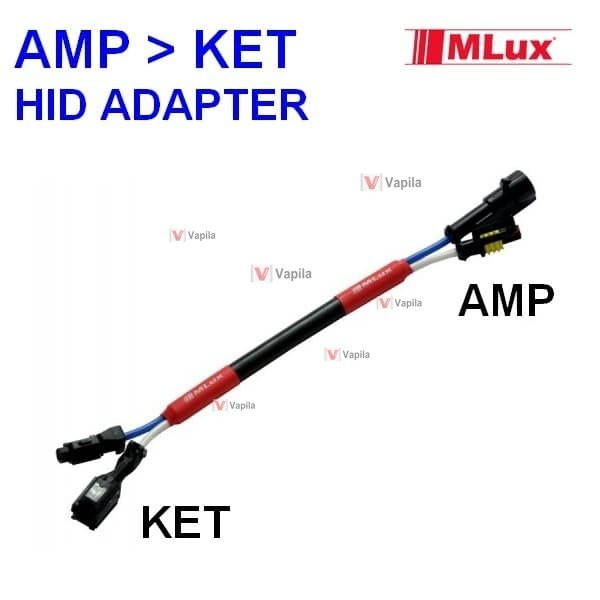 mlux xenon adapter amp to ket