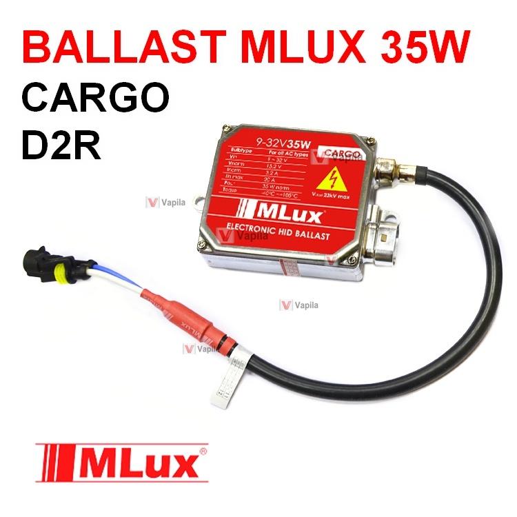 Ксеноновый блок розжига Mlux Cargo D2R без обманки