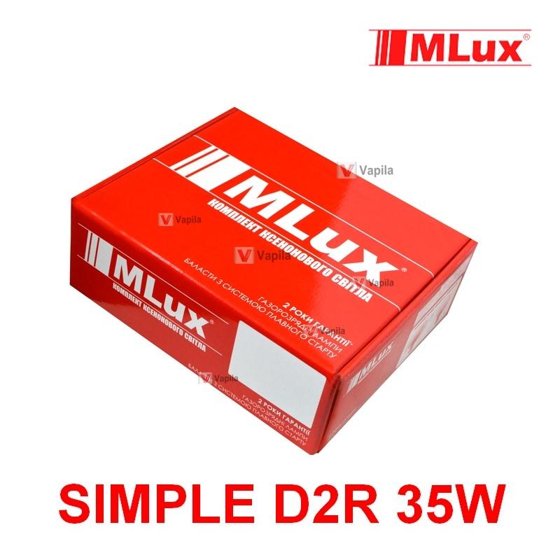 Ксенон Mlux Simple D2R 35w