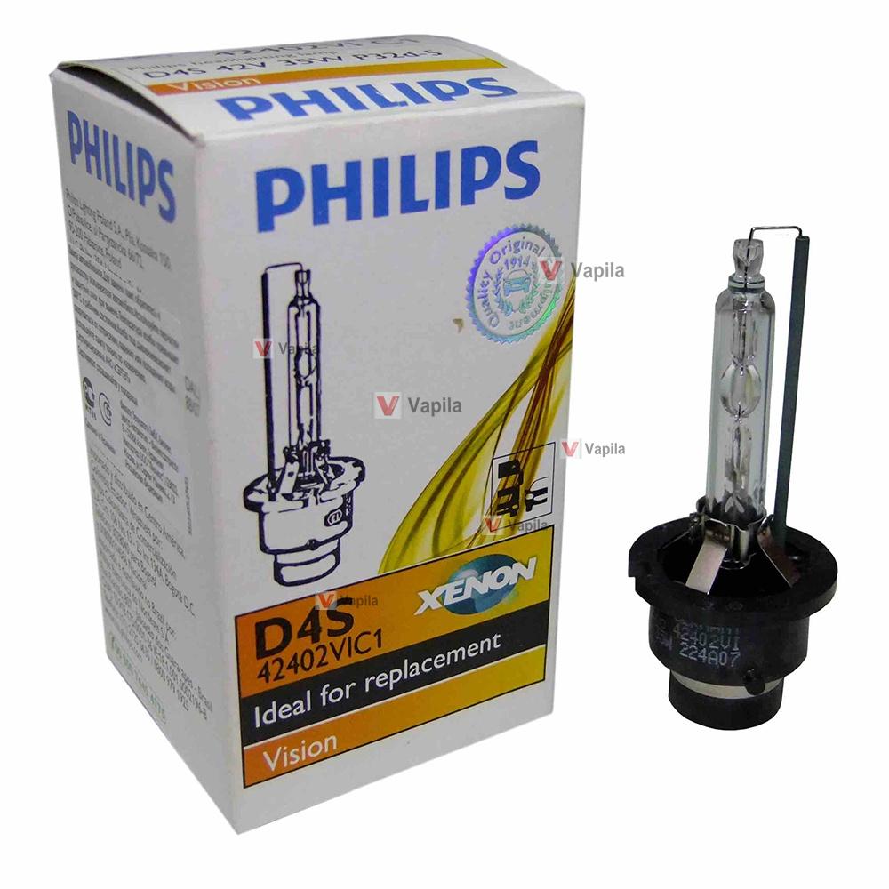 ксеноновая лампа philips d4s vision
