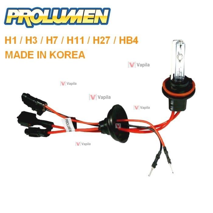 Ксеноновые лампы Prolumen h1 h3 h7 h11 h27 50w
