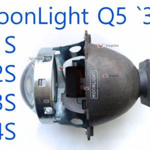 Биксеноновые линзы MoonLight Q5 3.0'