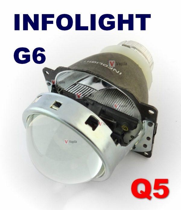 Биксеноновые линзы Infolight G6 3.0'