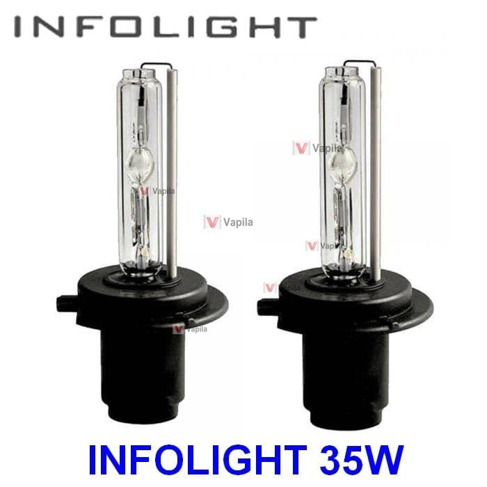 Ксеноновые лампы Infolight h1 h3 h7 h11 35w