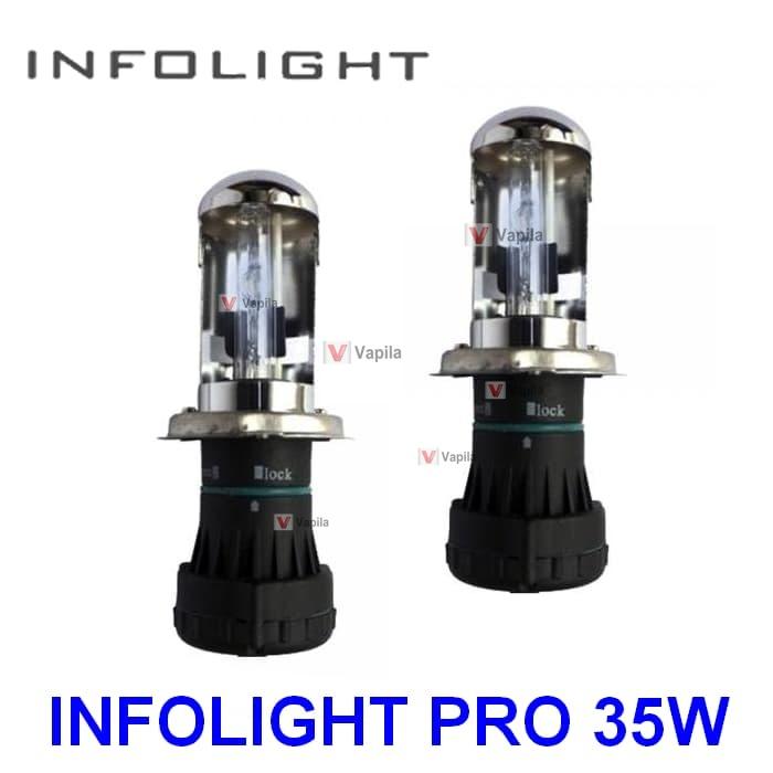 Биксеноновые лампы Infolight pro H4 35w
