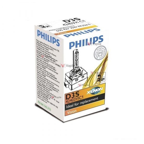 Ксеноновая лампа Philips D3s Vision 42403VIC1 35w