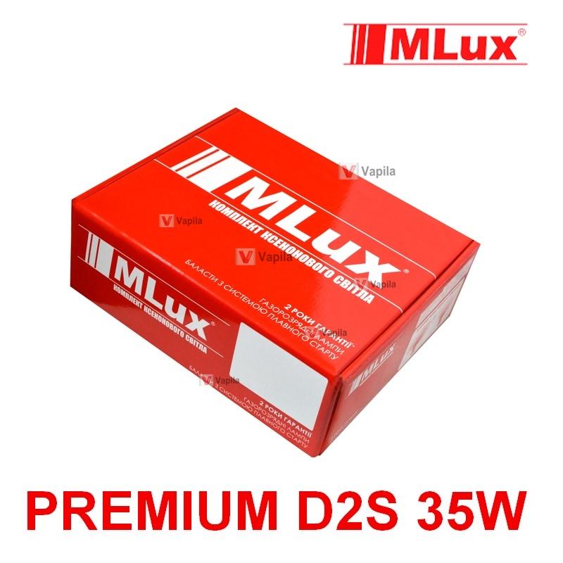 Ксенон Mlux Premium silm D2S 35w