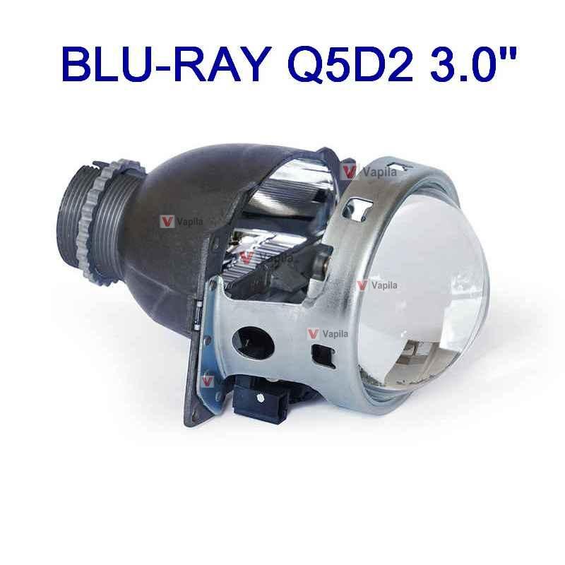 Биксеноновая линза Blu-Ray Q5D2 3.0'' 75 mm